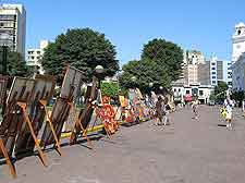 Picture of local art market