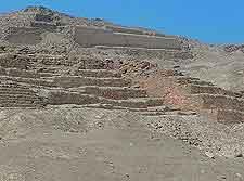 Pachacama image, showing local ruins