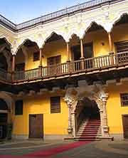 Image of the Palacio de Torre Tagle