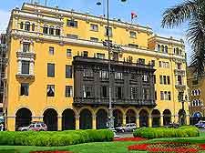 Photo taken in the Plaza de Armas