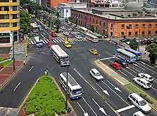 Photo of prominent city bridge