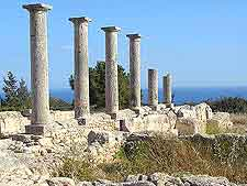 Image of the Temple of Apollo remains at Ancient Kourion