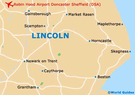 Lincoln Maps and Orientation Lincolnshire England