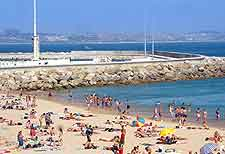 Lisbon Airport (LIS) Hotels: Photo showing the beachfront