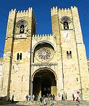 Photo of the Se de Lisboa Cathedral