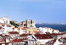 Picture of the skyline showing the cathedral