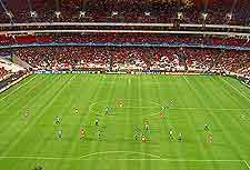 Photo of football match in the city's Luz Stadium (Estadio da Luz)