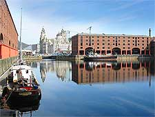 Image of the regenerated Albert Docks