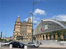 Picture of the renovated Lime Street railway station, taken by Neil T