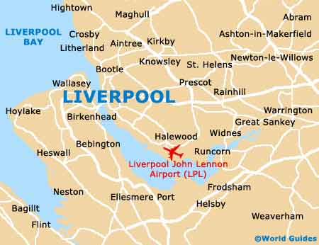 Small Liverpool Map