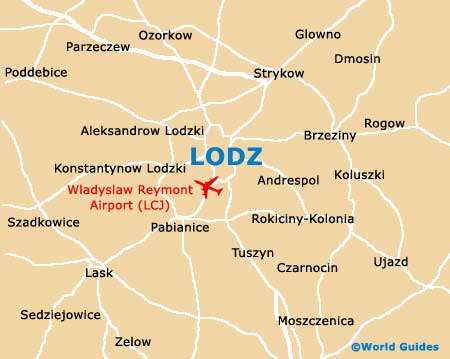 Small Lodz Map