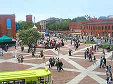 Picture of central square