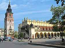 Image showing the historical Cloth Hall and Town Hall Tower