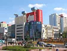 Picture showing Lodz city centre