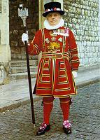 Picture of a Beefeater in State Uniform