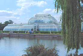 Photo of the Palm House in Kew Gardens
