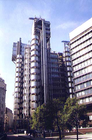 Image of the Lloyds Building in Lime Street