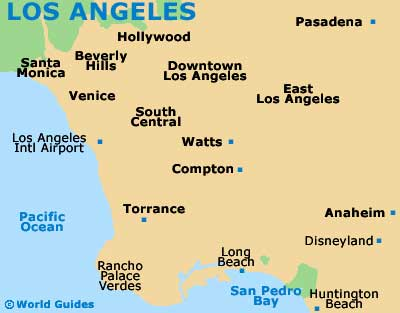 map of los angeles airport lax orientation and maps for lax los