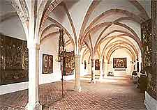 Interior view at the St. Annen Art Gallery and Museum