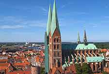 Picture of Lubeck cityscape
