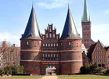 Picture of the Holsten Gate (Holstentor)
