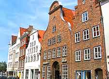 View of historical houses within the Old Town district