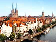 Photo of the river in Lubeck