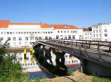 Photo of bridge across the River Trave