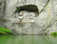 Photo of the Lion Monument (Lowendenkmal)