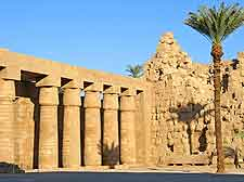 Photo of the East Bank's Temple of Karnak