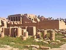 Image of historic temple in Qena