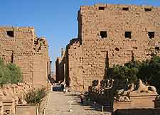 Further picture of the Temple of Karnak
