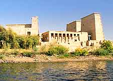 Picture showing the historic Philae Temple