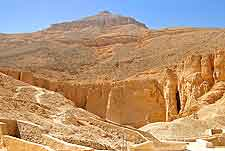 Photo of the famous Valley of the Kings
