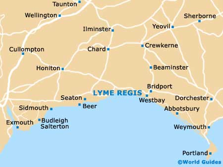 Small Lyme Regis Map
