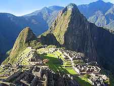 View of the world-famous Inca ruins