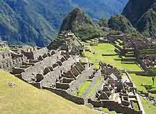 Photo of the remaining Inca architecture