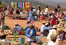 Image of market based at Ambalavao
