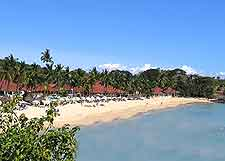 Different beachfront picture taken on Andilana Beach, Nosy Be Island