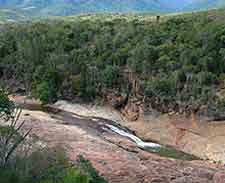 Aerial image of the Andohahela National Park (Parc National Andohahela)