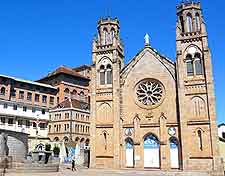 Picture of the Andohalo Catholic Cathedral in Antananarivo, Madagascar