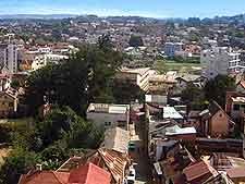 Antananarivo aerial view