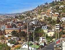 Further photo showing the Antananarivo cityscape