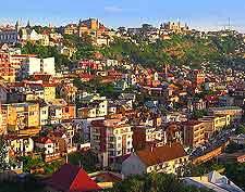 Antananarivo cityscape view