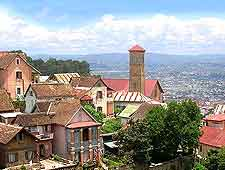 Further picture of the Antananarivo cityscape