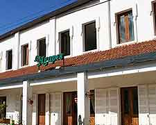 Picture of the Arotel / Les Agapes Restaurant located on the Rue Jean Ralaimongo, Antsirabe