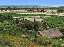 Scenic view of Miandrivazo
