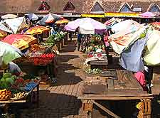 Picture of the Antananarivo Markets (Marchés)