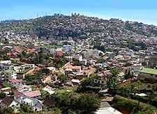 Aerial image of the Antananarivo cityscape