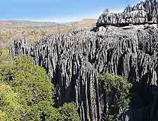 View across Tsingy de Bemaraha Strict Nature Reserve (Tsingy de Bemaraha Reserve Naturelle)